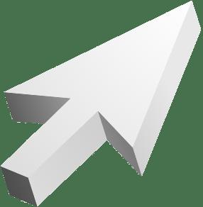 Levitating mouse cursor